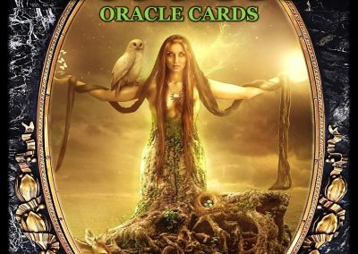 Dark Goddess Oracle Cards Cover Master