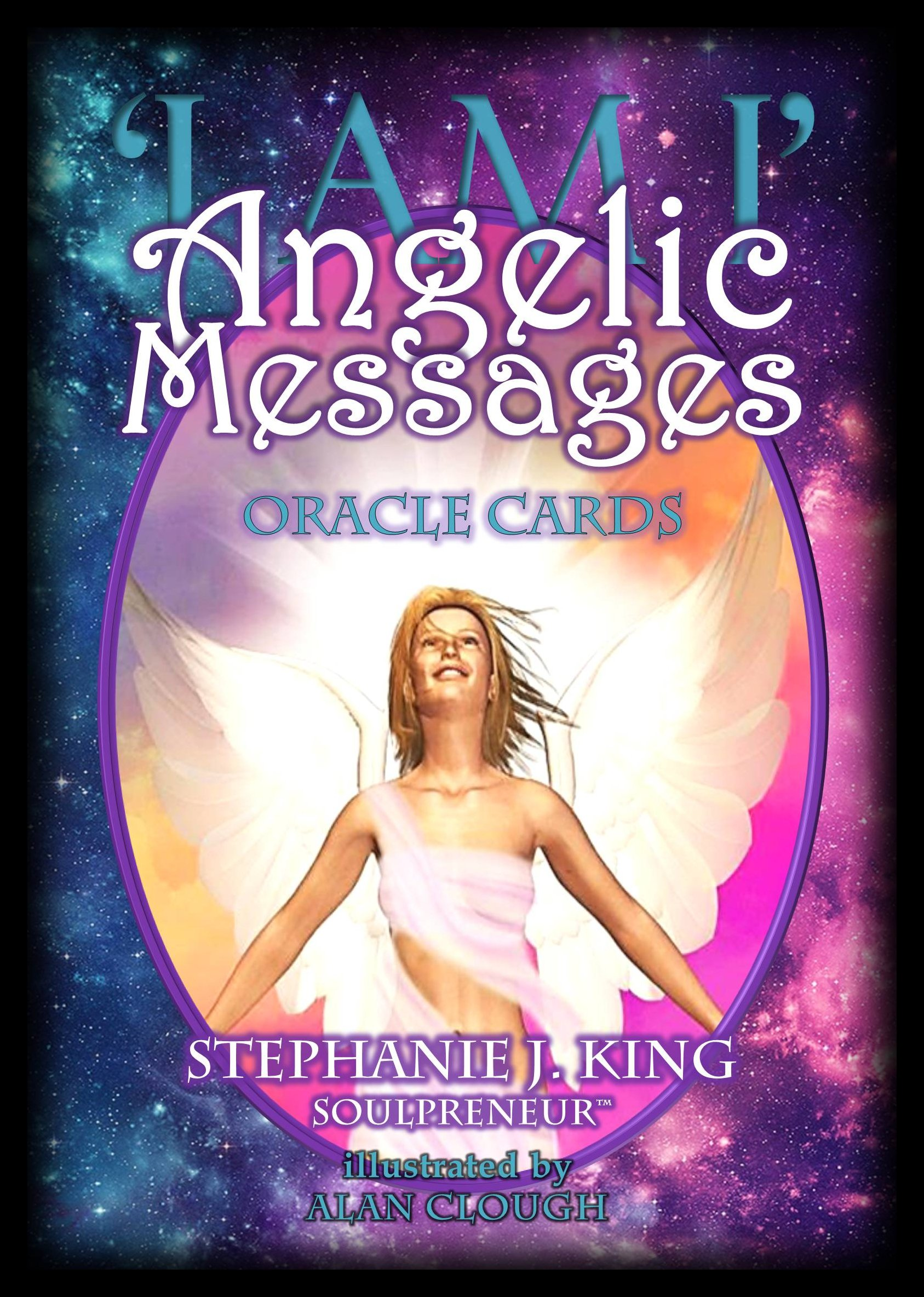 I AM I Angelic Messages Oracle Cards